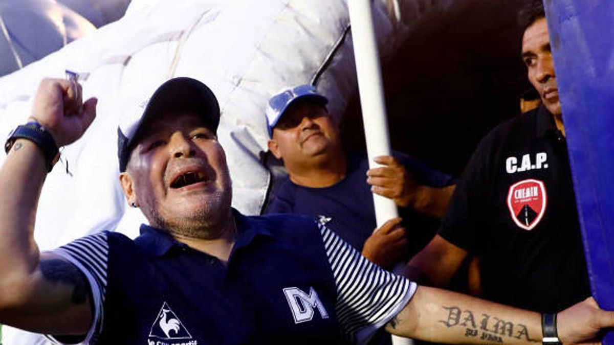 Así celebró Maradona el Día del Técnico argentino