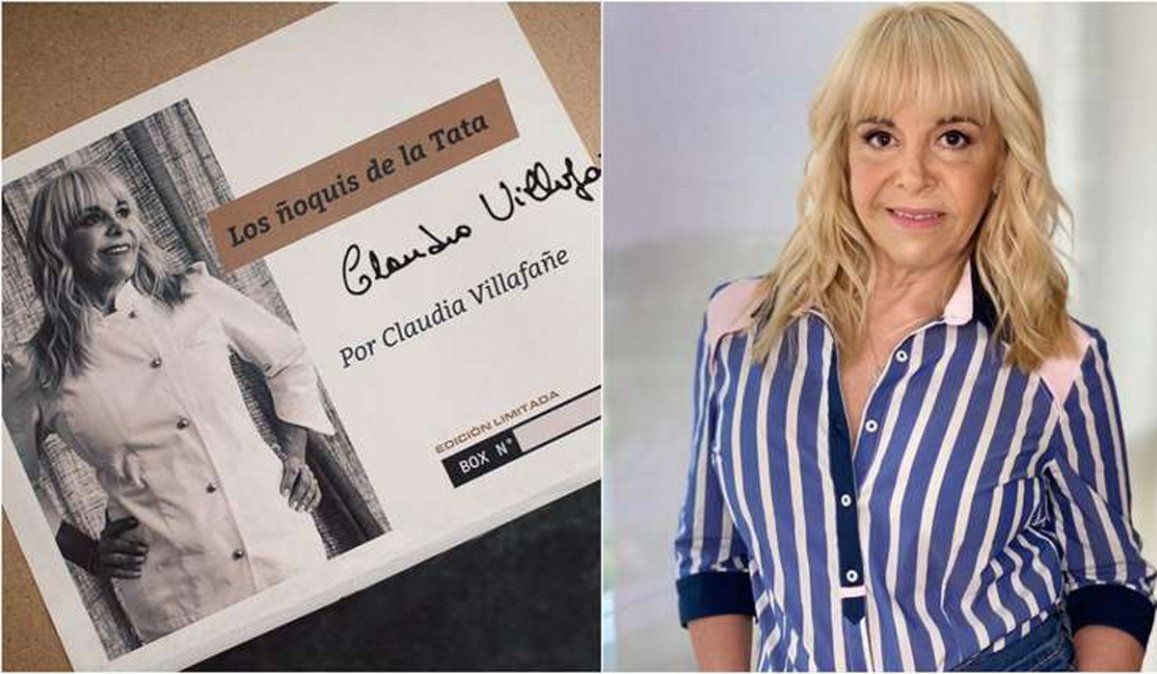 Claudia Villafañe vende sus ñoquis.