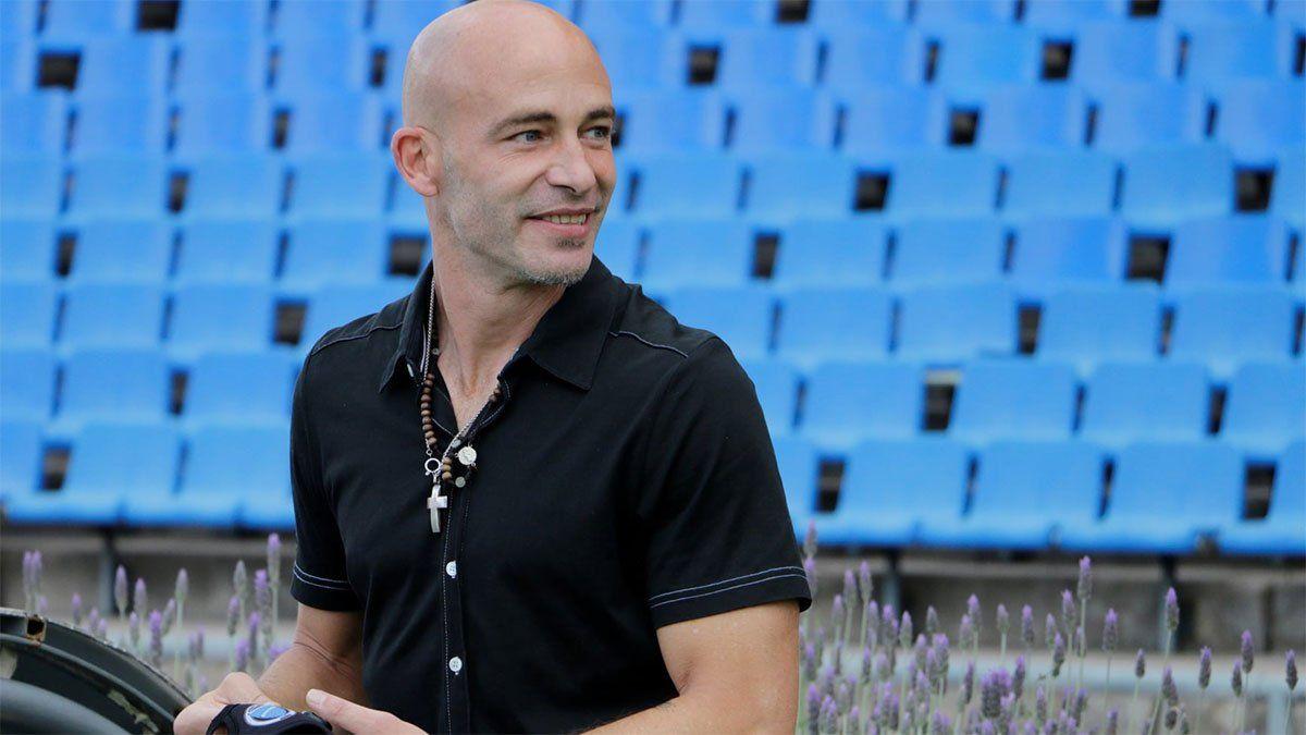 Sebastián Méndez terminó conforme después de la victoria ante Platense. (Foto gentileza Prensa Godoy Cruz).