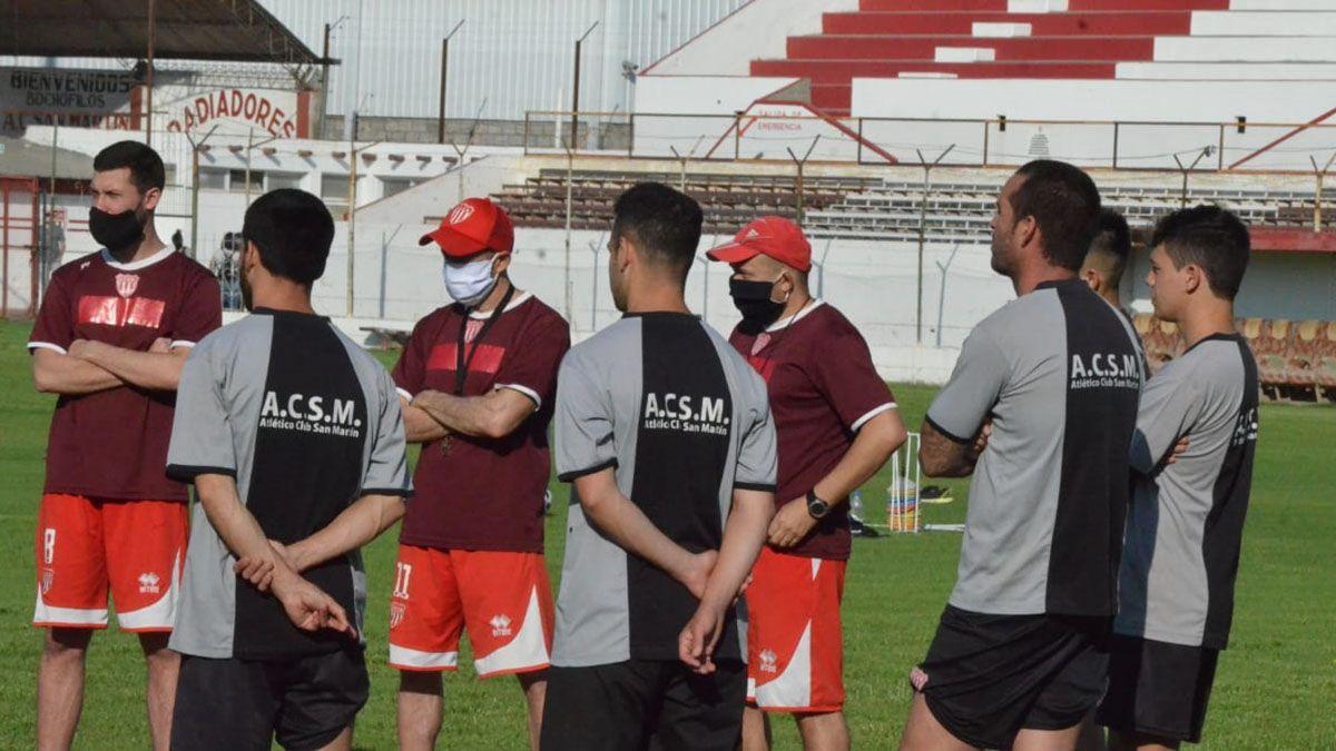 El entrenador tiene el desafío de ascender con el Chacarero.