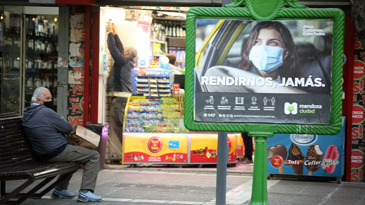 En Mendoza es alto el porcentaje de casos positivos de Covid.