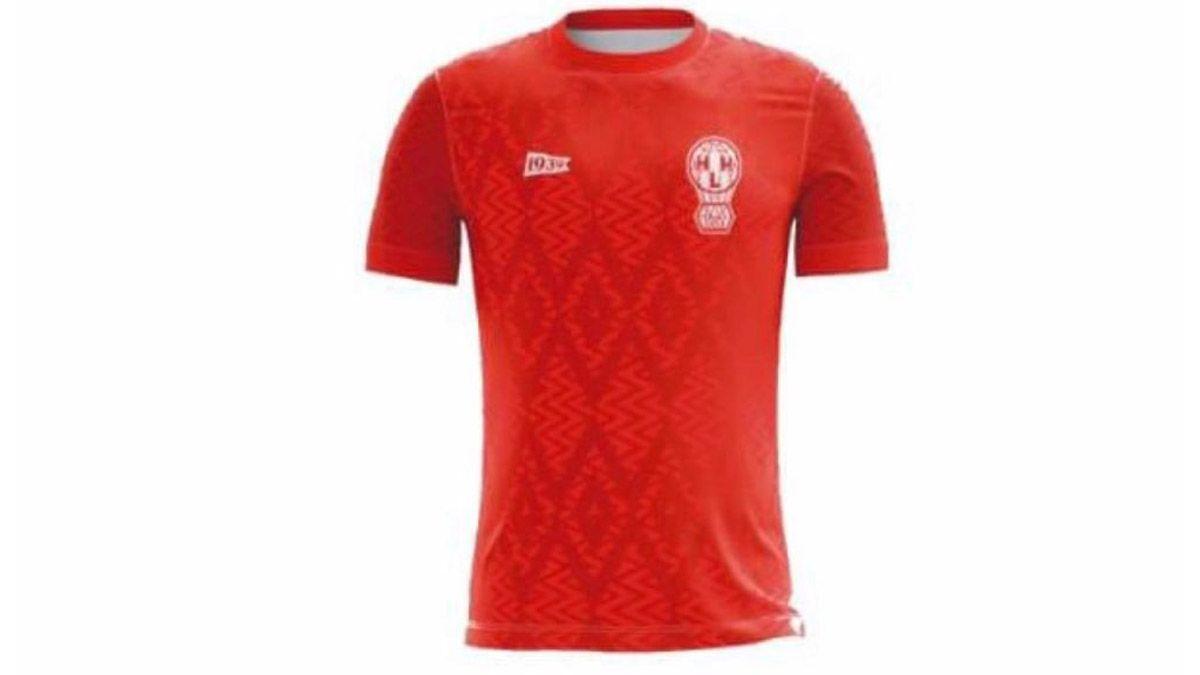Se filtró la camiseta que usará Huracán en la Copa Argentina