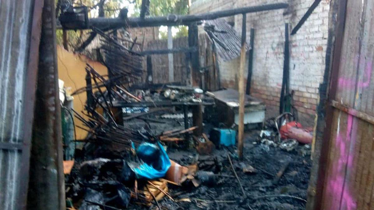 Se incendió un taller el Rivadavia y hubo pérdidas totales