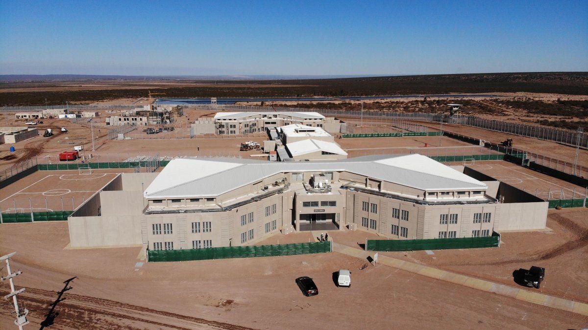 La cárcel de mujeres en Campo Cacheuta.