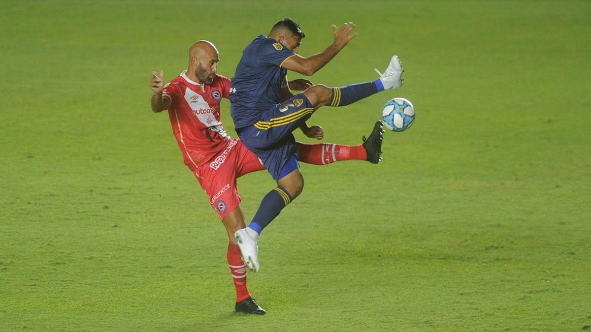Boca igualó con Argentinos y es finalista de la Copa Diego Maradona