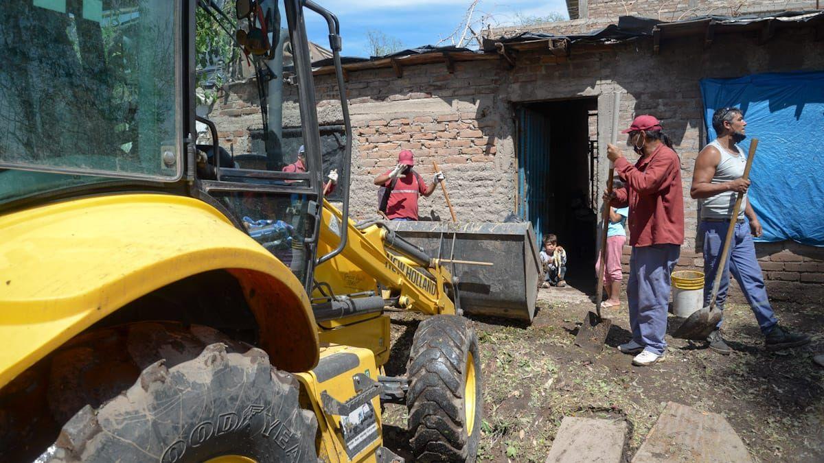Tormenta en Mendoza: Las Heras decretó emergencia