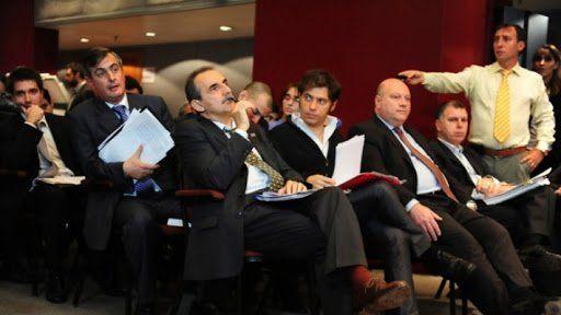 Hace 8 años. La asamblea del Grupo Clarín en la que participaron Guillermo Moreno (fue juzgado y absuelto) y Axel Kicillof.