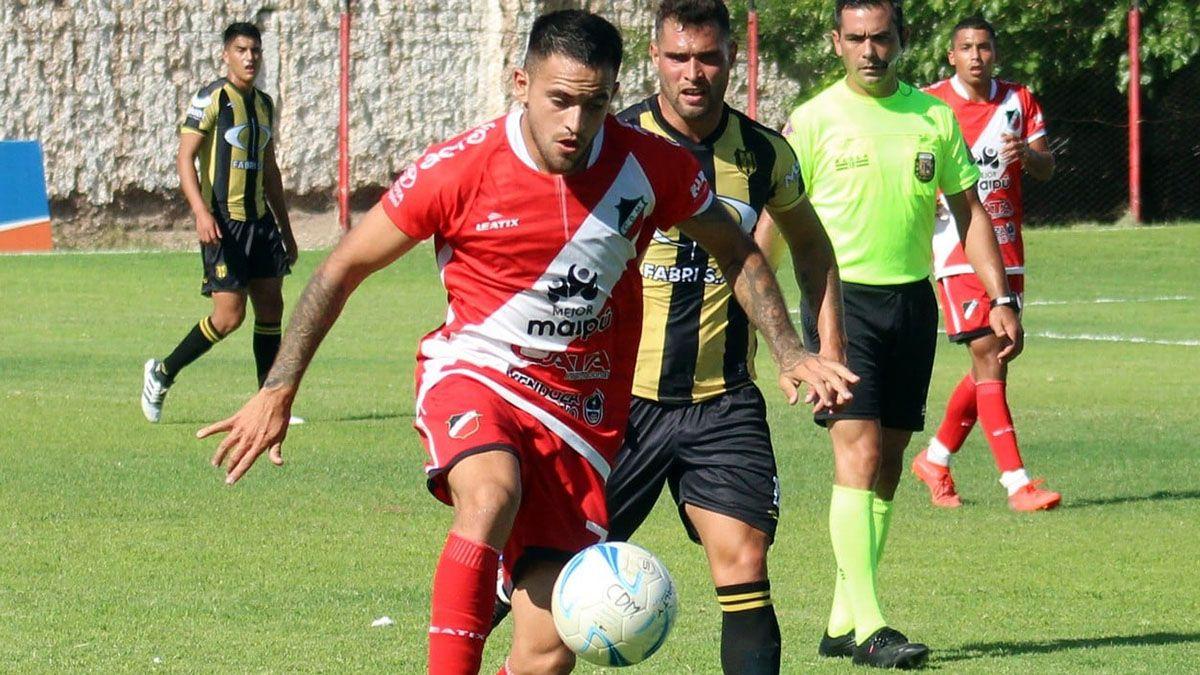 El Loco Méndez es un jugador fundamental en el Deportivo Maipú.