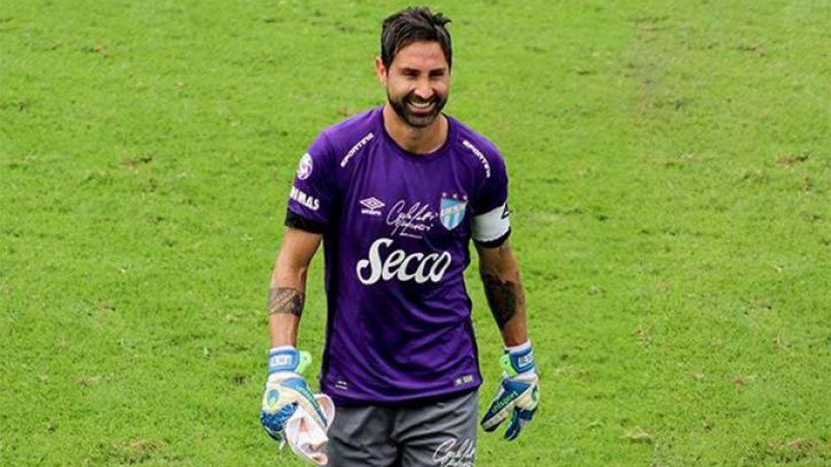 Cristian Lucchetti es feliz en Atlético Tucumán
