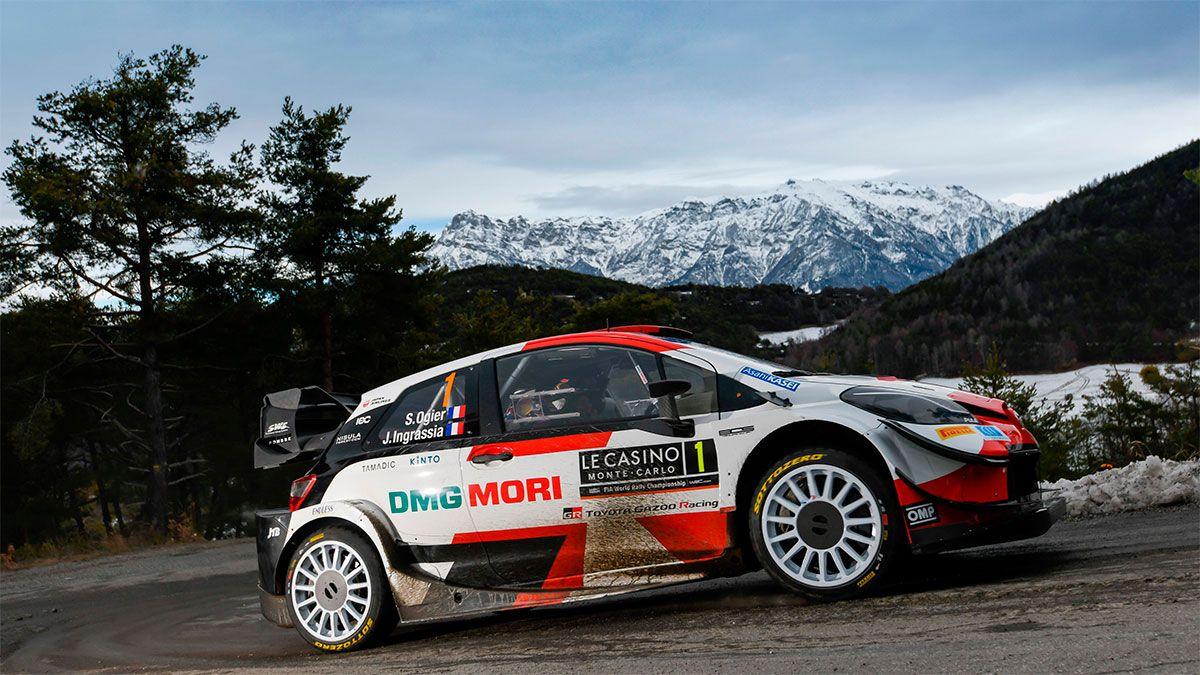Sebastian Ogier ganó el Rally de Montecarlo por octava vez