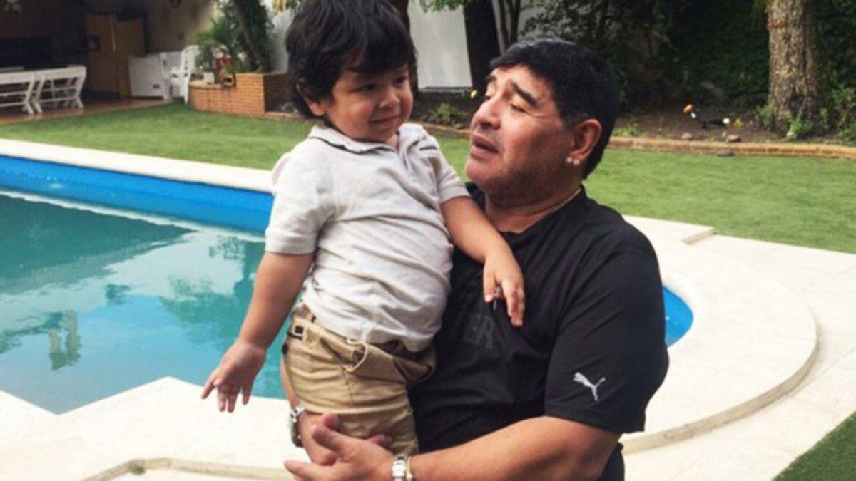 Tras la muerte de Maradona, Dieguito Fernando comenzará un tratamiento psicológico
