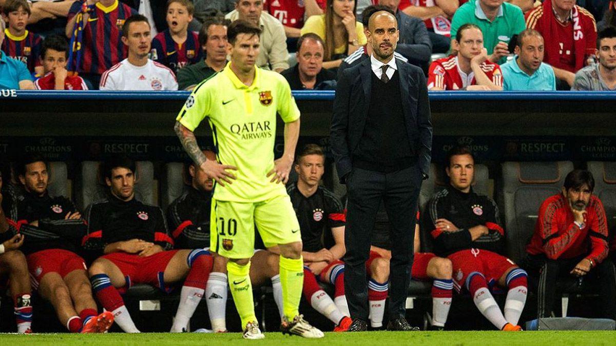 Messi reveló cuáles fueron los dos mejores técnicos que tuvo