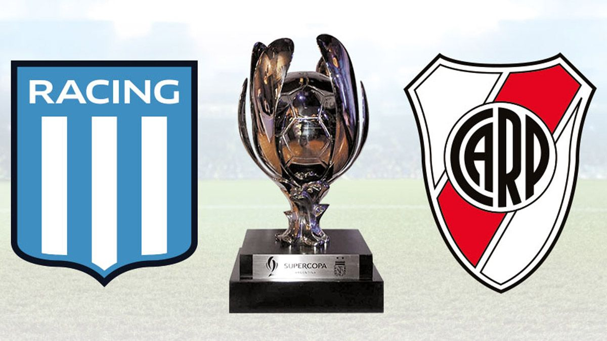 River y Racing definirán la Supercopa Argentina