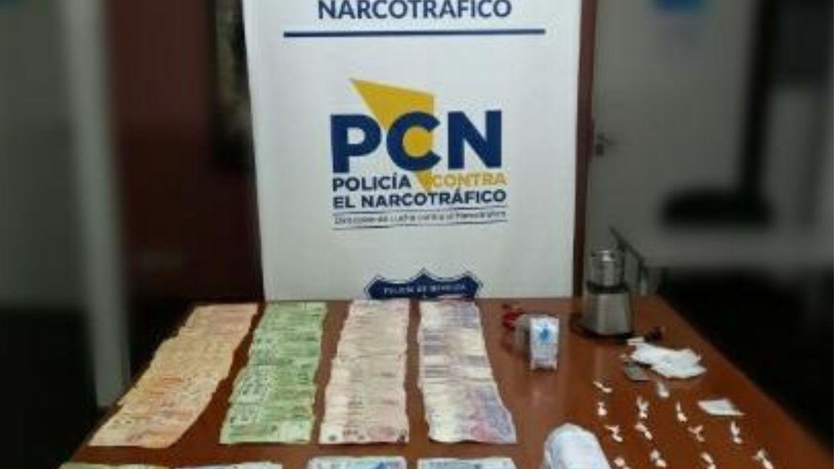 Desbarataron una banda y encontraron cocaína, marihuana y $400.000