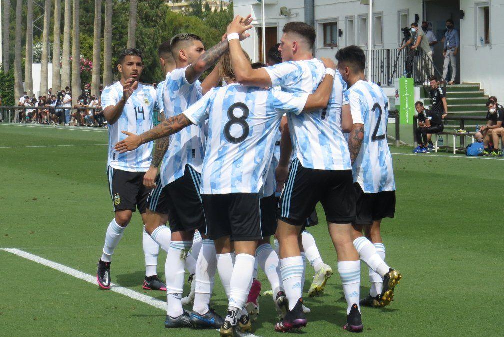 La Selección Argentina Sub 23 venció a Arabia Saudita