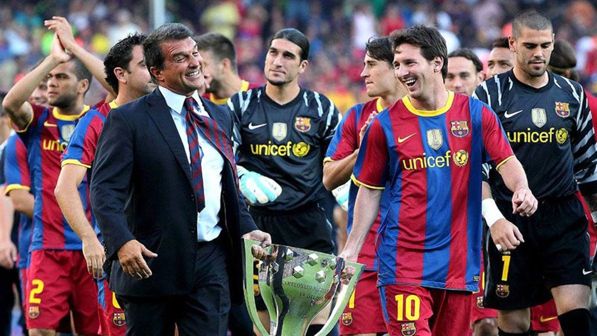 Estoy convencido de que Messi se quiere quedar