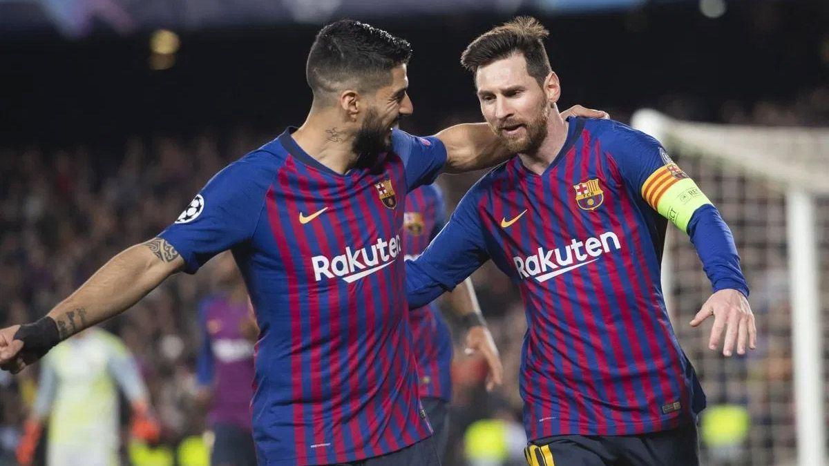 Lionel Messi y Luis Suárez son amigos casi inseparables