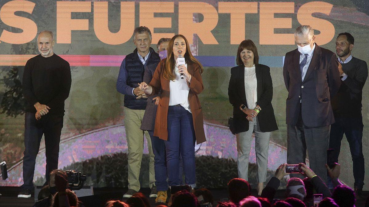 La lista encabezada por la candidata a diputada de Juntos por el Cambio María Eugenia Vidal ganó la interna y superó ampliamente al Frente de Todos.