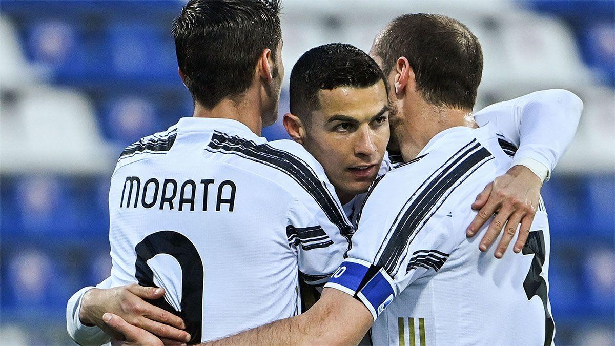 Cristiano Ronaldo hizo un hat-trick y se los dedicó a sus críticos