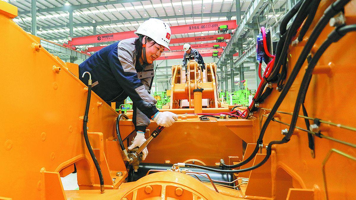 China se ha convertido en la única economía importante del mundo con crecimiento positivo en 2020. LIU CHANGSONG / PARA CHINA DAILY