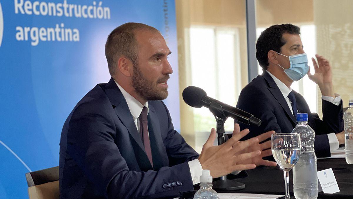El ministro Guzmán señaló que bajar la inflación es una prioridad.