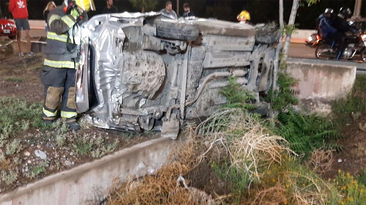 Impresionante accidente en Maipú