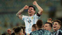 Lionel Messi lidera el equipo ideal de la Copa América 2021.