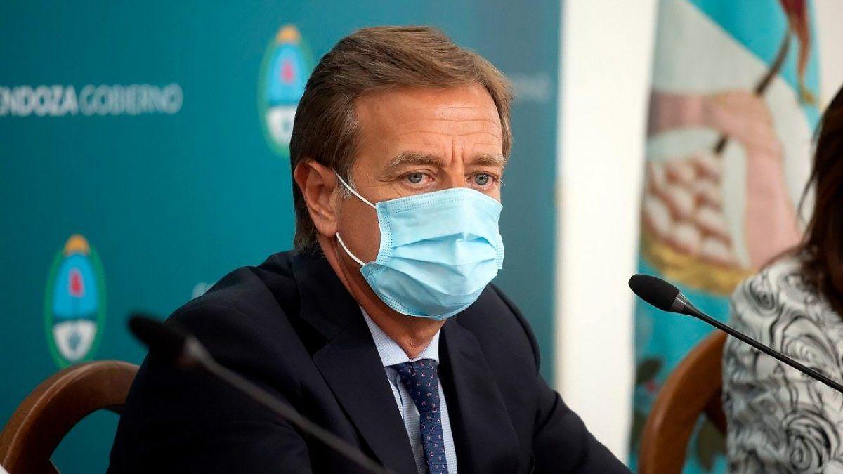El gobernador Rodolfo Suarez busca aliarse con sus pares para conseguir la compra de vacunas. Contactó a Uñac y a Morales.