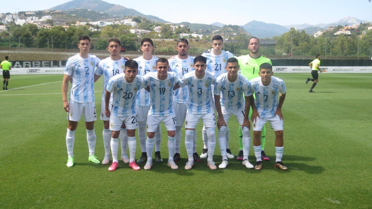 La Selección Argentina sub 23 ganó en la previa de los Juegos Olímpicos.