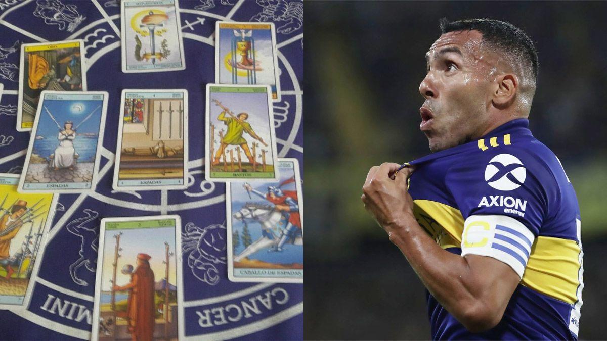 Tarotista de Boca: presagio ante Santos y palo para River
