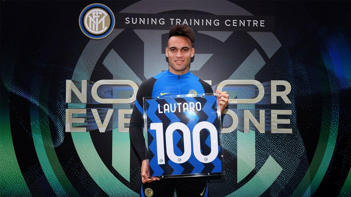 El Inter reconoció a Lautaro Martínez