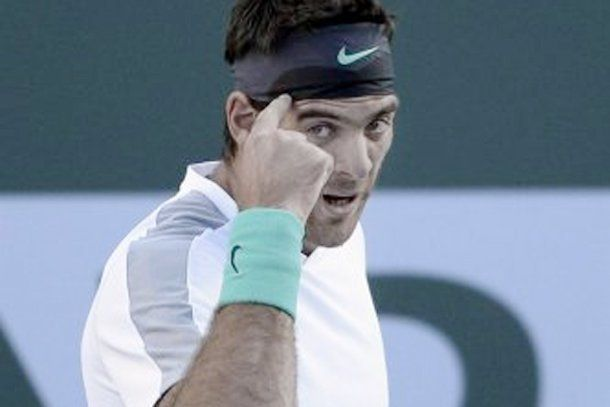Del Potro sumó una victoria en el Masters 1000 de Indian Wells