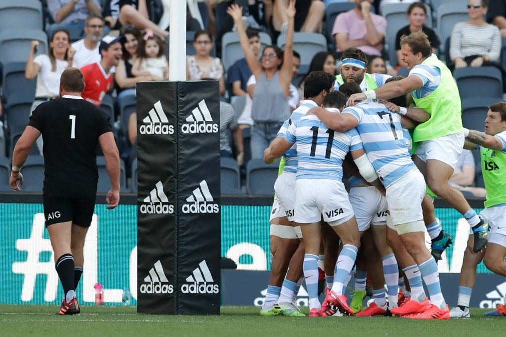 Histórico: Los Pumas vencieron a los All Blacks