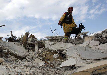 Una réplica volvió a sacudir Haití