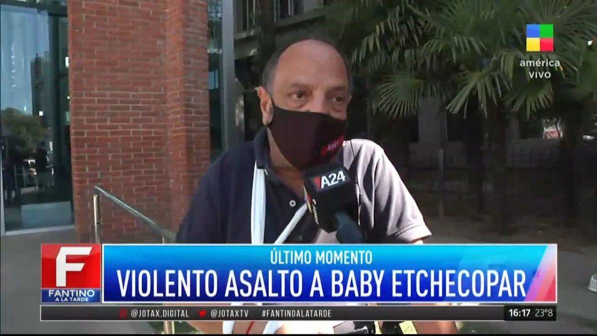 Detuvieron al motochorro que intentó robarle a Baby Etchecopar