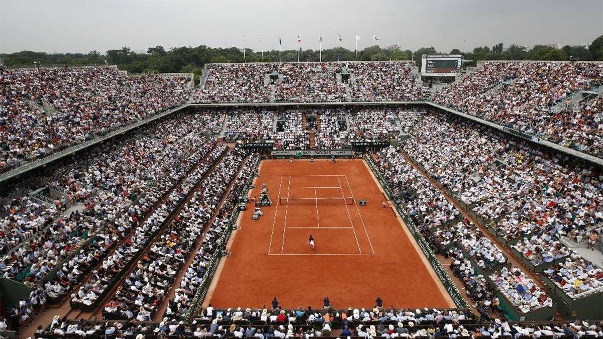 Finalmente Roland Garros se jugará con 11.500 espectadores diarios.