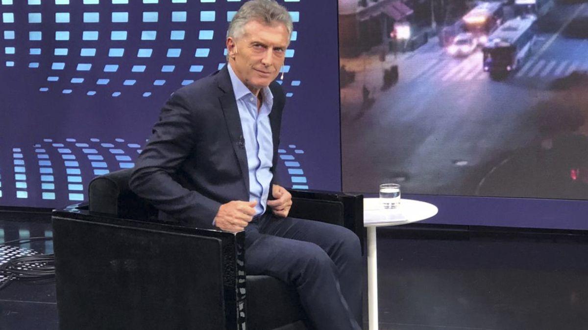 Mauricio Macri habló de Alberto Fernandez