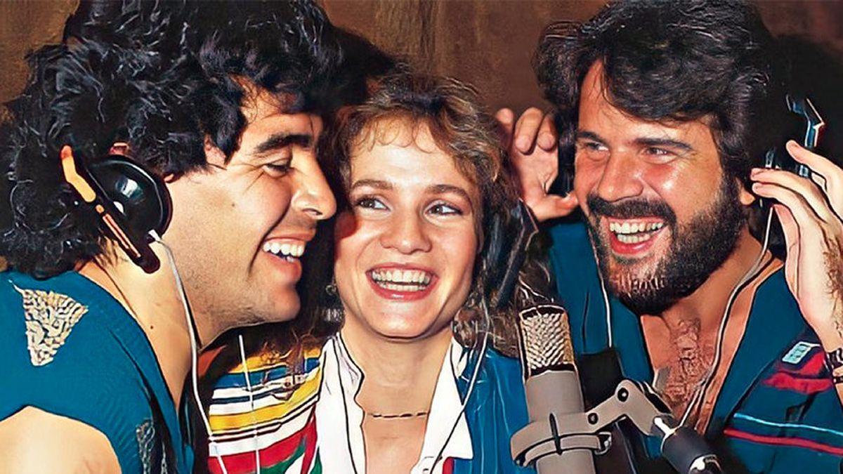 Luis Ventura contó que Lucía Galán estuvo embarazada de Diego Maradona.