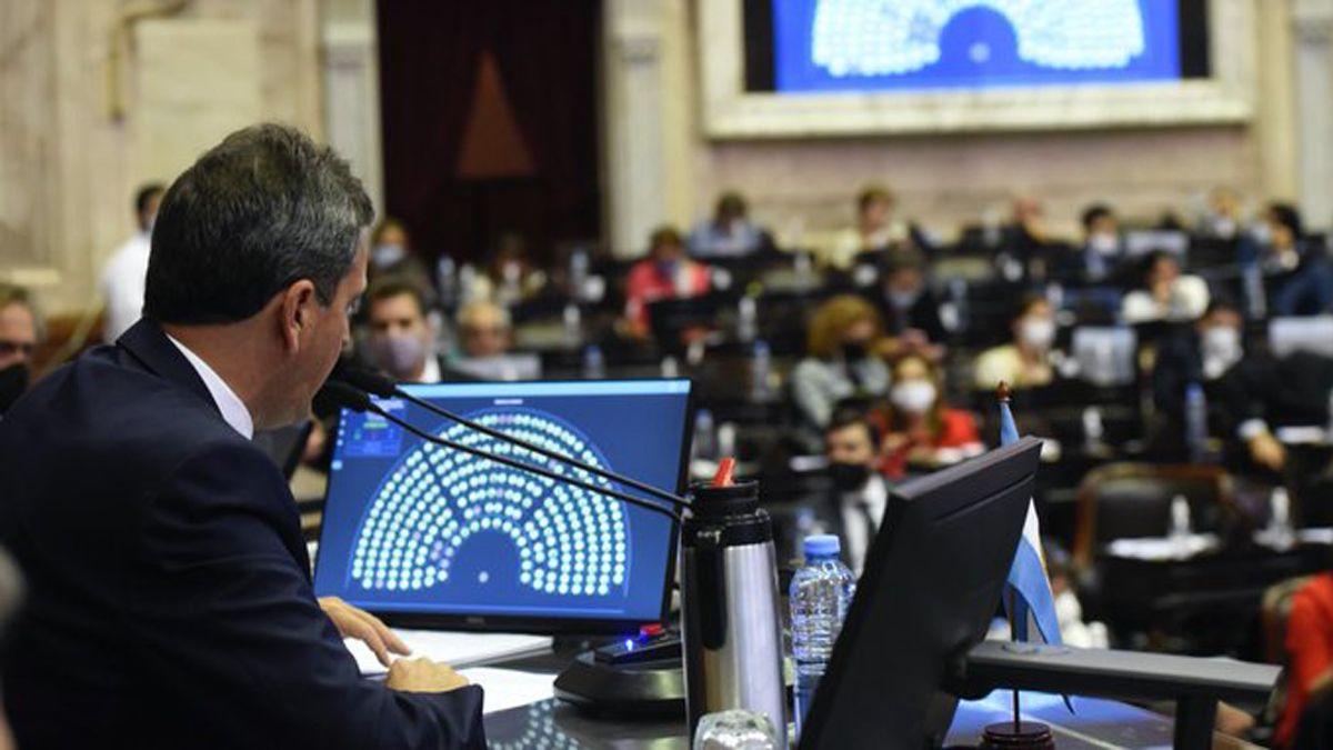 La Cámara de Diputados volverá a sesionar el próximo miércoles