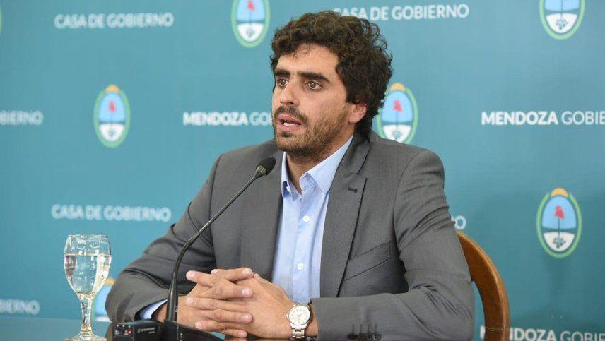 El secretario de Servicios Públicos de Mendoza