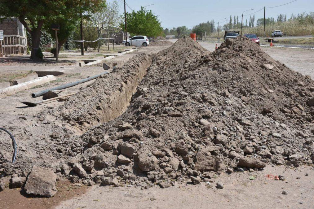 Esta es la red de agua potable de La Dormida