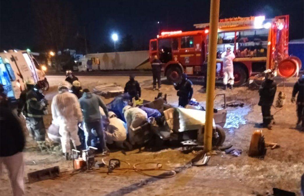 Accidente fatal en Luján: murió un hombre de 70 años en el Acceso Sur.