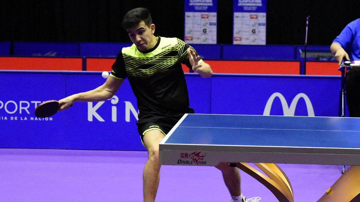 Horacio Cifuentes se clasificó a Tokio en tenis de mesa