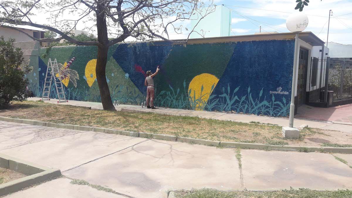 Los muralistas que le están cambiando la cara a Guaymallén