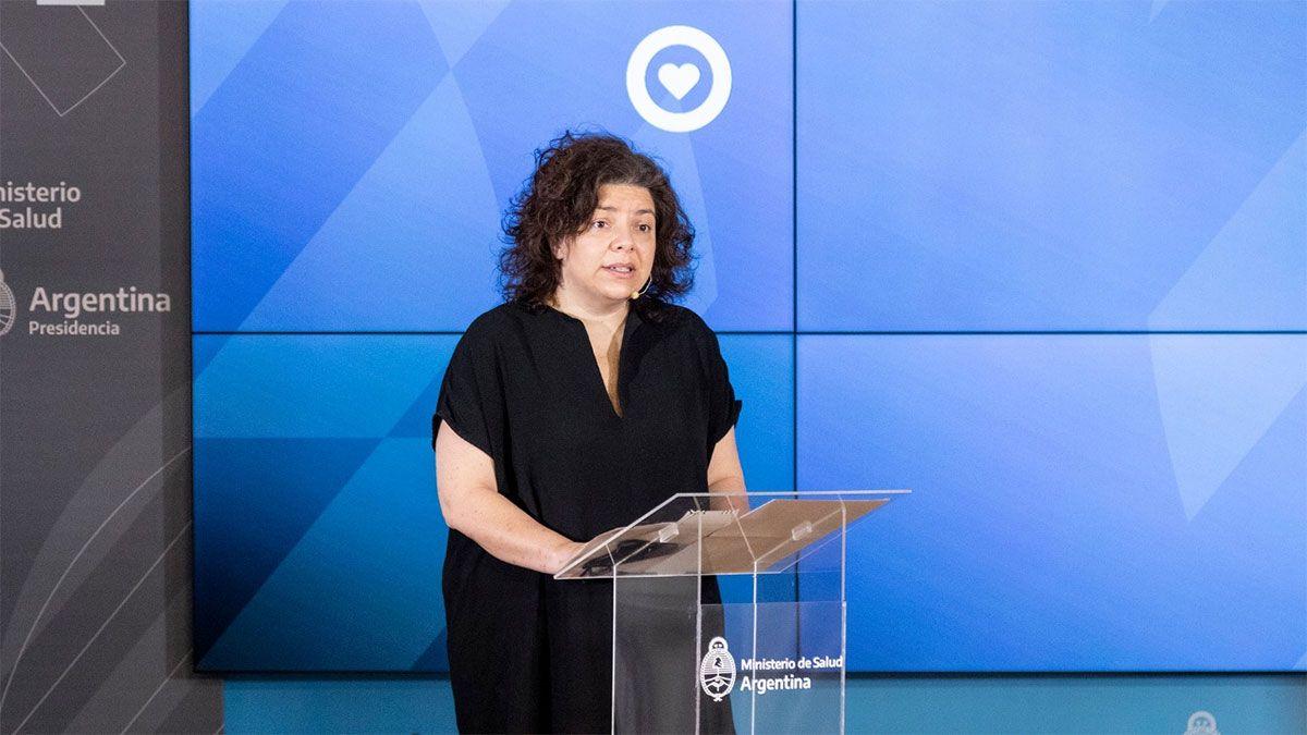 Carla Vizzotti analizó los avances de la vacunación en la Argentina.