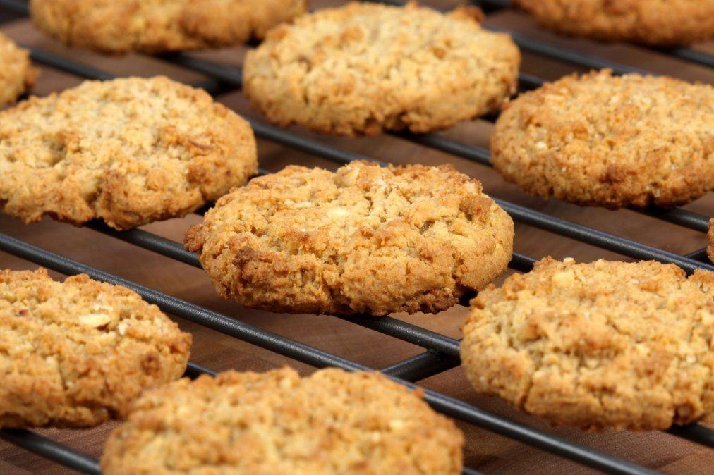 Receta de galletas de avena: fácil y saludable