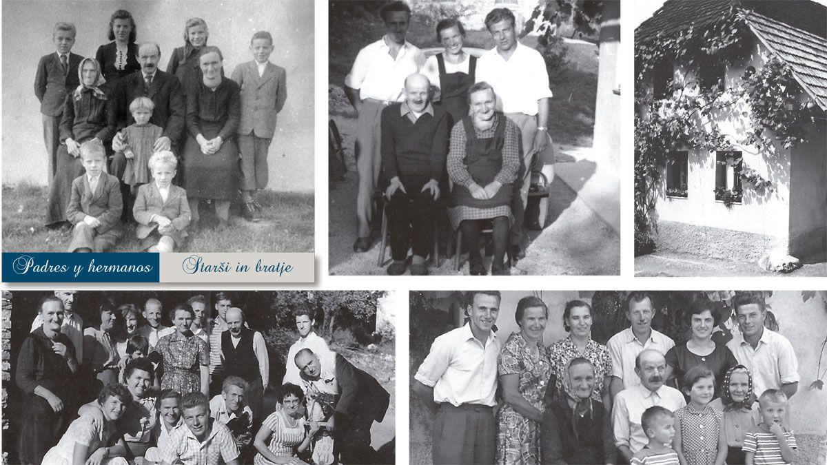 Parte de lo que quedó atrás, pero no fuera del corazón de Stanko: sus padres y hermanos, ya que los menores no pudieron escapar de Eslovenia y las persecuciones religiosas y políticas. La casa paterna es lo primero que viene a la mente de Stanko cuando escucha el nombre de su patria.