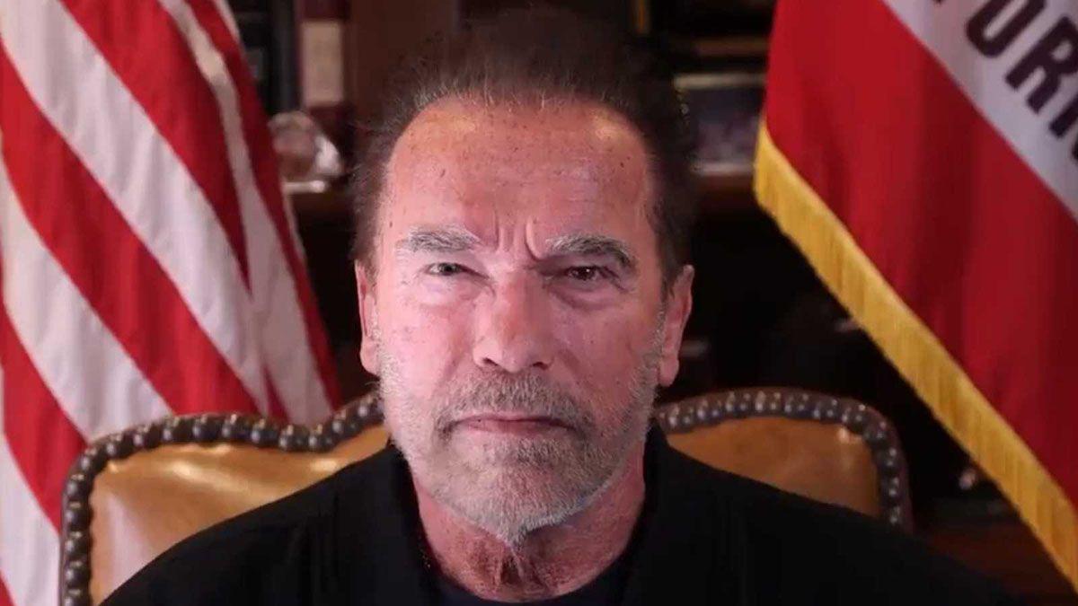 El derrumbe de Trump, según  la visión del Terminator bueno