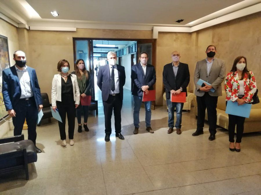 Legisladores del PJ llegaron hasta Casa de Gobierno para reunirse con la ministra de Salud