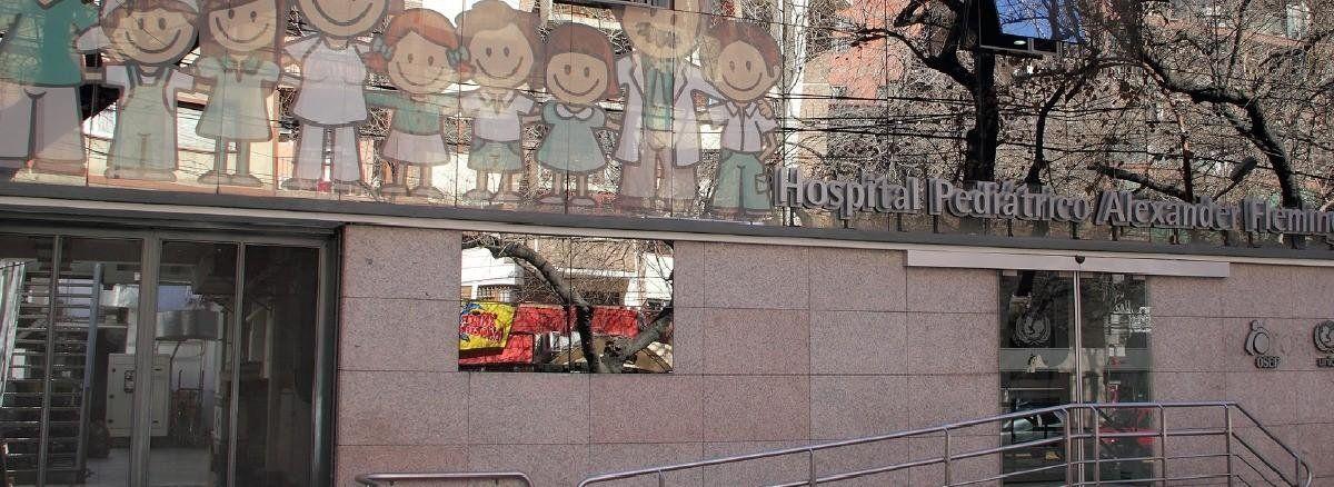 Todos los servicios del Hospital Pediátrico Alexander Fleming volvieron a atender con normalidad.